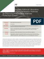 National Laboratory Deploys FireEye Web Malware