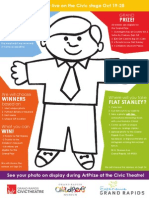Flat Stanley Printable Page