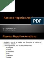Absceso Hepatico Piogeno y Amebiano