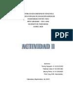 Actividad II- Microondas.