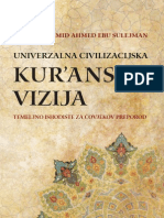 Univerzalna civilizacijska kuran'ska vizija, temeljno ishodište za čovjekov preporod - Abdulhamid Ahmed Ebu Sulejman