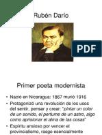 Rubén Darío y modernismo
