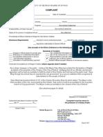 001 Board of Ethics Complaint Form 201208b