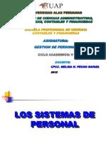 3º C- LOS SISTEMAS DE PERSONAL