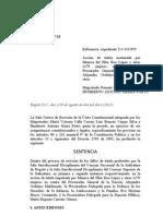 Fallo de Tutela T-627/12 Mónica del Pilar Roa López y otras 1279 mujeres en contra del Procurador General de Colombia