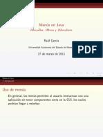 Java Menus