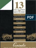 Corinda - 13 Escalones Hacia El Mentalismo