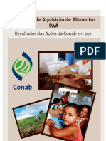 Ações PAA 2011 Conab