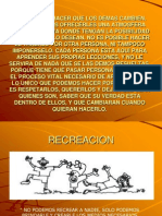 Conceptos Basico de Recreacion