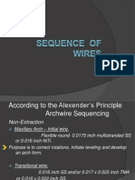 Sequence of Wires