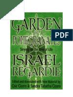 Israel Regardie Um Jardim de Romas