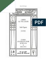 Liber Al Vel Legis (O Livro Da Lei) - Aleister Crowley