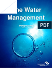 One Water Management Network Perspectives