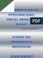 Erikson, Freud, Piaget