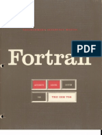 Fortran for the IBM 704