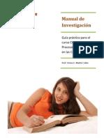 Guía de Estudio 1 Curso de Investigación en Comunicación