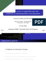 Présentation de thèse - Fadi KACEM