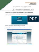 Cuentas de Correo en Cpanel y Uso de Horde en Webmail