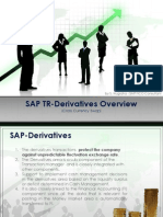 SAP TR Derivatives - Cross Currency Swap