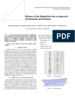 Increased Energy Efficiency of the Fishing Fleet Due to Improved Hydrodynamic Performance