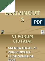 VI FORUM  CIUTADÀ 2008