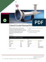 C-band CircPol Feed 611608407 611618407