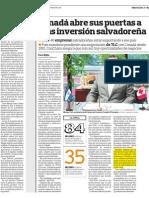 Publicación Cámara Canadiense de Comercio de El Salvador