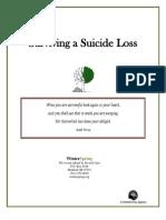 Surviving a Suicide Loss