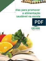 Cartilha - CECANE, Alimentaç╞o Saudável, etc