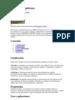 Materiales pétreos precios investigacion
