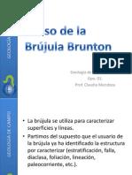 El Uso de La Brujula Brunton 2013