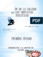 EVOLUCIÓN HISTÓRICA DE LOS CONCEPTOS DE CALIDAD SESION 01