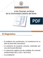 Facultad de Ciencias Juridicas UCN