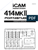 Porta 414mkII Manual
