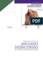 Manual de Atencion Al Anciano Desnutrido - Nivel Primario de Salud