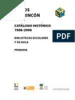 Catalogo Libros Del Rincon