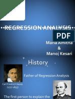 81063542 Regression Analysis