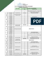 Academic Calendar 2012