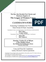 2012 Assembly & Senate Flyer