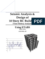 ETABS-Example-RC Building Seismic Load _Time History