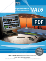 Solidyne VA16 FM Digital Monitor & Modulation Analyzer