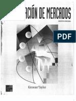 Investigación de Mercados - Kinnear-Tylor 5a. Edición