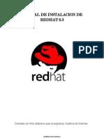Manual de Instalacion de Redhat 6