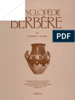 Encyclopédie Berbère Volume 6