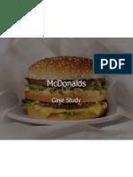 Case Study Mcdonalds