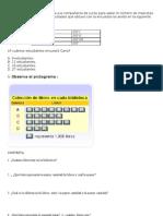 Guia Ejercicios 3 Pictograma, Tabla de Datos