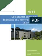 Examen de Admisión a la Ingeniería en Tecnologías de la Información