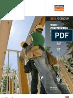 Simpson Strong-Tie - Wood Construction Connectors - 2012 Addendum