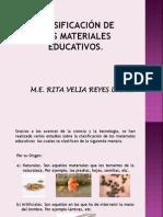 1.2. Clasificacion de Materiales Educ.