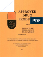 FDA approved drug list